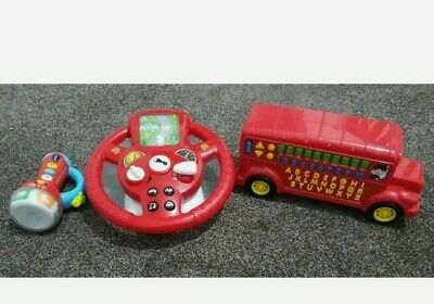 £8.99 • Buy Bundle Of Childrens Toys - Vtech, Chad Valley And Marks And Spencers VGC