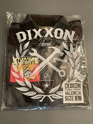 """$60 • Buy Dixxon Flannel """"Valencia"""" Size Large *Sold Out"""""""