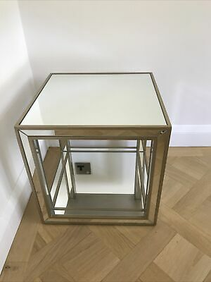 £44.99 • Buy Venetian Style Mirrored Cubed Table