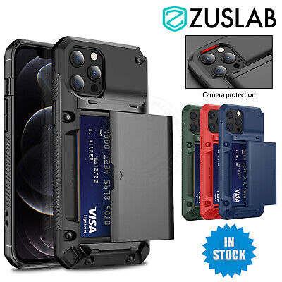 AU14.95 • Buy For IPhone 12 11 Pro XS Max X XR 8 7 6s Plus Wallet Case Card Slot Holder Cover