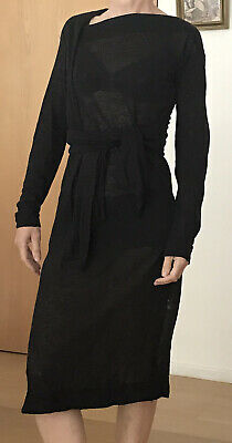 £30 • Buy Vivienne Westwood Anglomania Black Fine Knit Dress Size Small
