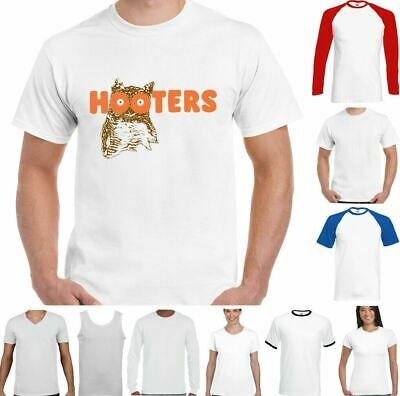 £7.99 • Buy Hooters T-Shirt Owl Funny Stag Do Hen Doo