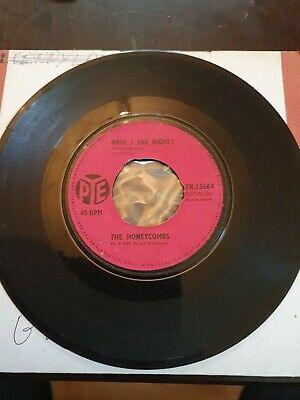 £1.40 • Buy The Honeycombs 7  Vinyl Single Have I The Right 1964 Pye Label