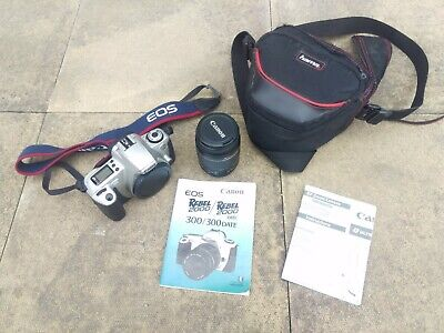 £12.50 • Buy Excellent Condition Canon EOS300 Camera With Lenses