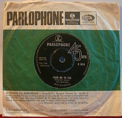 £3.99 • Buy The Beatles From Me To You / Thank You Girl 1963 - 7  Vinyl