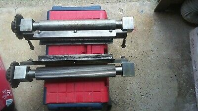 £175 • Buy A Complete Set Of Feed Rollers For A Wadkin 12 BOAS PLANER/THICKNESSER.