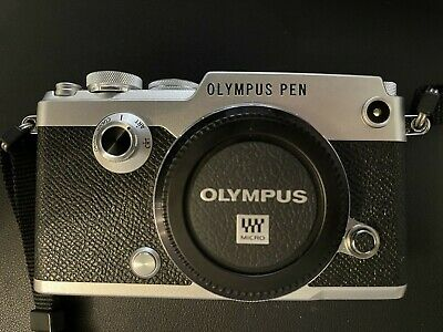View Details Olympus PEN-F 20.3MP Digital Camera - Silver - Low Use • 530.00£