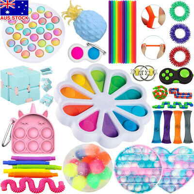 AU20.44 • Buy Fidget Sensory Toys Pack Cheap For Kids Adults Stress Relief Anti-Anxiety Tools