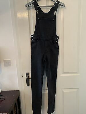 £4 • Buy H & M Black Dungarees, Age 12-13 Years