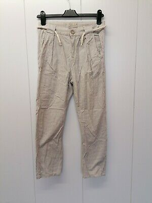 £5 • Buy Zara Boys Collection Beige Colour Chinos/Trousers Slim Fit Age 10 Years