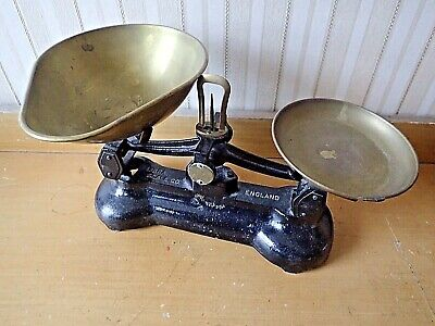 £22 • Buy Antique WEIGHING SCALES Cast Iron & Copper Victorian
