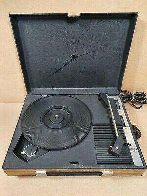 £24.99 • Buy Vintage Fidelity HF42 1970s Portable Record Player/Turntable