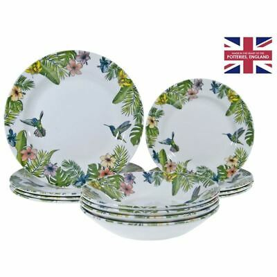AU79 • Buy Queens By Churchill - 12pc Dinner Set Reignforest (Made In England)