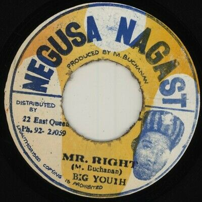 £16.99 • Buy Big Youth - Mr. Right (7 )