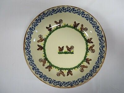 £15 • Buy Brixton Pottery Cock And Hen Large Serving Dish