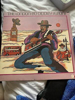 £1.90 • Buy Bo Diddley - The London Bo Diddley Sessions LP 1973 (VG+/VG+) '