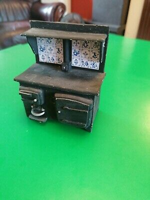 £0.99 • Buy Victorian Dolls House Kitchen Resin Stove 1/12th Scale (12x9x6cm)