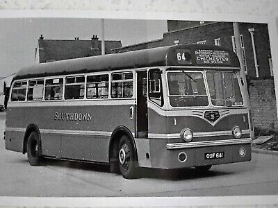 £0.99 • Buy Bus Photo Southdown Leyland Tiger OUF 641