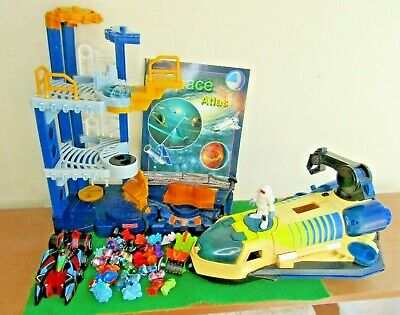 £16.97 • Buy IMAGINEXT Fisher Price SPACE Shuttle ROCKET Station WORKING SOUNDS Bundle