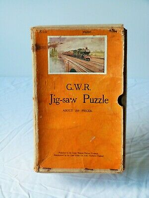 £7.50 • Buy GWR Jigsaw, Cheltenham Flyer By Chad Valley, 2 Pieces Missing.