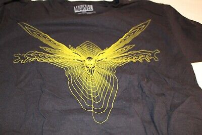 £3.53 • Buy Marvel Lootwear Loot Crate WASP Black And Yellow Tee Shirt Large