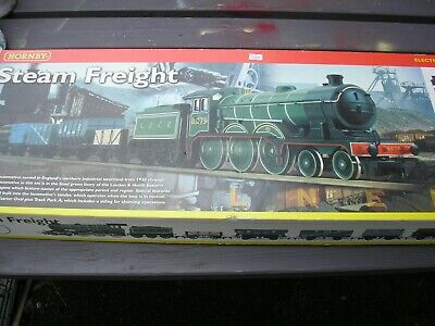 £100 • Buy Hornby R1018 Steam Freight00 Gauge Electric Train Set Ex Condition