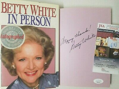 AU227.04 • Buy Betty White Signed Book In Person Autographed First Edition Autograph 1987 - JSA