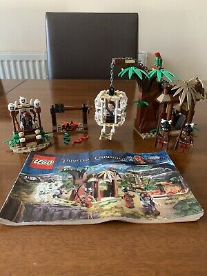 £37.50 • Buy Lego Pirates Of The Caribbean The Cannibal Escape Set 4182 Complete Hard To Find