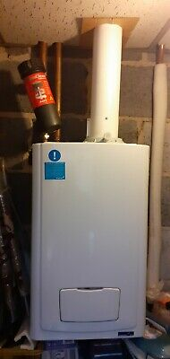 £75 • Buy Glow Worm Condensing Boiler With Vertical Flue.31kw.excellent Working Order.