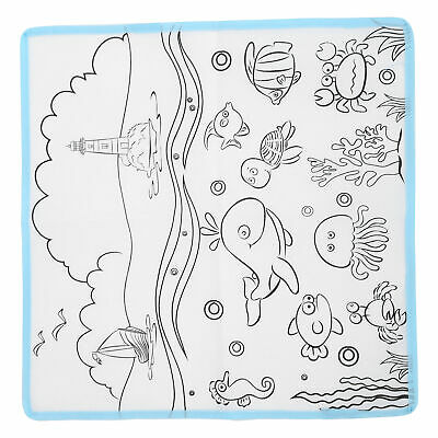 £5.19 • Buy Kids Child Doodle Water Painting Drawing Mat Writing Board Water Pens Toy Supply