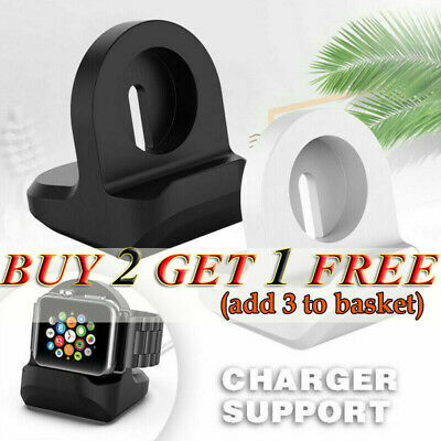 AU11.58 • Buy For IWatch Apple Watch Charging Dock Station Charger Holder Stand Accessory AU.