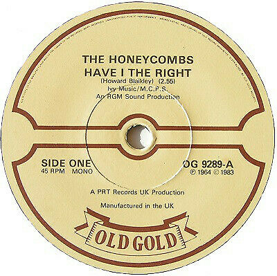 £7.96 • Buy The Honeycombs Have I The Right / That's The Way Vinyl 7 .8100.