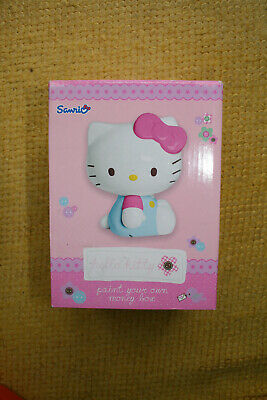 £9 • Buy Hello Kitty Paint Your Own Money Box And Holdall.