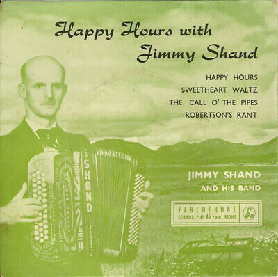 £5.86 • Buy Jimmy Shand And His Happy Hours With Jimmy Shand Vinyl 7 .759.