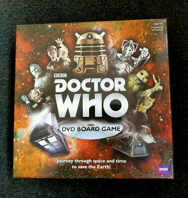 £4.25 • Buy Bbc Doctor Who Dvd Board Game New - Contents Still Sealed