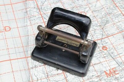 £45 • Buy WW2 German Office Two Hole Punch Pre 1945 Made By Leitz, Good For Display
