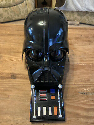 £30 • Buy Star Wars Darth Vader Electronic Voice Changer Helmet Hasbro 2004 Tested Working