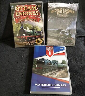 £3 • Buy 3 X Southern England Railway DVDs
