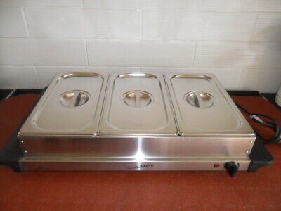 £20 • Buy Costco, Signature 3 X Stainless Steel Buffet Food Warmer
