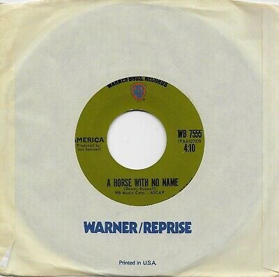 £7.23 • Buy AMERICA  A Horse With No Name / Everyone I Meet Is From California  Original 45