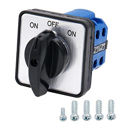 £11.80 • Buy Heschen Universal Rotary Cam Selector Changeover Switch SZW26-20/B202.2 660V 20A