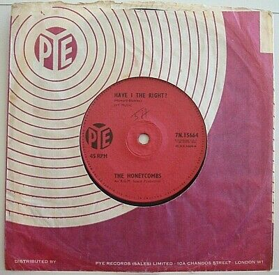 £2.99 • Buy The Honeycombs Have I The Right / Please Don't Pretend Again 1964 7  Vinyl V/g+