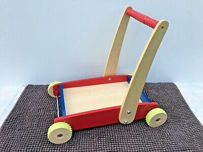 £12 • Buy ELC Push Along Baby / Toddler Trolley Walker Stroller - Excellent Condition