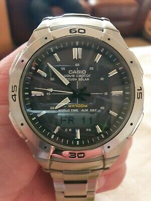 View Details Casio Wave Ceptor Solar Watch UK SALE ONLY • 35.00£