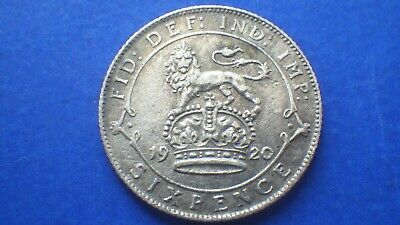 £2.25 • Buy George V 1920 Sixpence VF & Toned Some Surface Pitting - Jwhitt60 Coins