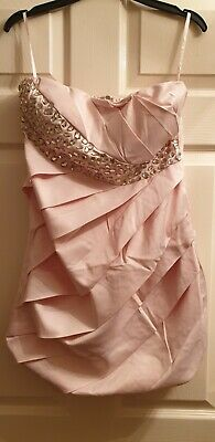 £1.99 • Buy Pink Dress By Eva And Lola Size T2 / 12