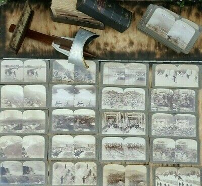 £134.99 • Buy Antique Vintage Underwood Stereo Viewer Stereoscope Stereoscopic Subliminal Card