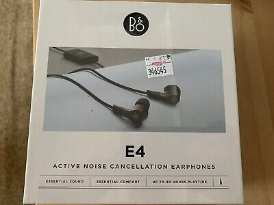 £55 • Buy B&O Beoplay E4 Active Noise Cancelling Earbuds - Black (1644526)