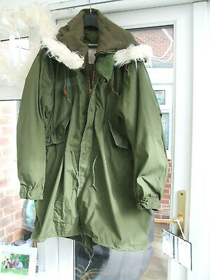 $276.11 • Buy M65 US Army Mod Fishtail Parka , Medium , With ECW Liner & Winter Hood Nice !