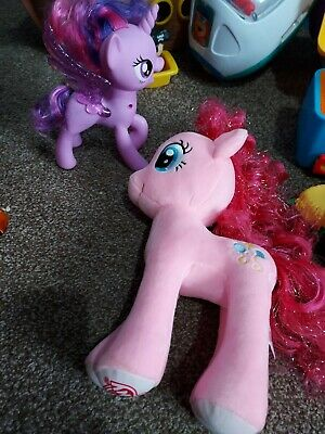 £4.49 • Buy 2 My Little Ponies Inc 1 Cuddly And 1 Talking